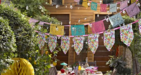 How To Decorate Dining Table 40th Birthday Garden Party Party Pieces Blog Amp Inspiration