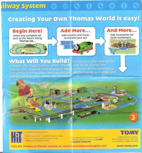 layout ultimate 2006 tomy thomas phlets instructions