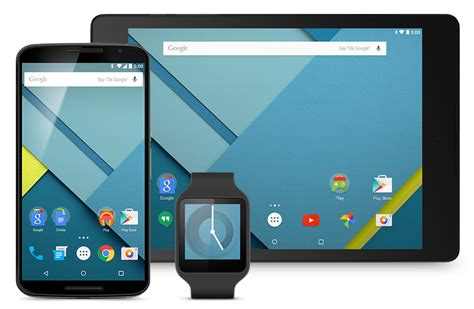 android lollipop phones install android l on nexus 5 and nexus 7 pc advisor