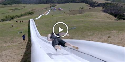 The World's Longest Water Slide Basically Never Ends