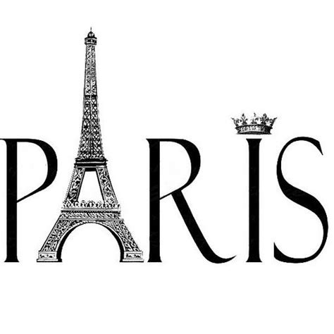 Paris Wall Mural Eiffel Tower paris assorted clipart vintage regular
