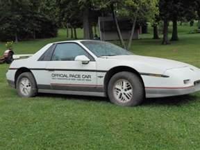 1980 Pontiac Fiero 1980 Pontiac Firebird Turbo Indy Pace Car 1984 Pontiac