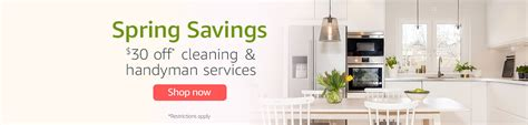 amazon home cleaning amazon home services 的最新打折信息 jiansnet