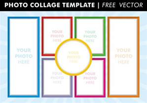 Free Photoshop Photo Templates by Photo Collage Templates Free Vector Free Vector