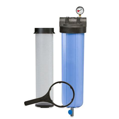 Housing Filter 20 Nanotec Inlet Outlet 34 pentek 150337 pentair bag filter housing r c worst co