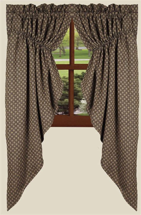 black country curtains kingston jacquard black curtain collection