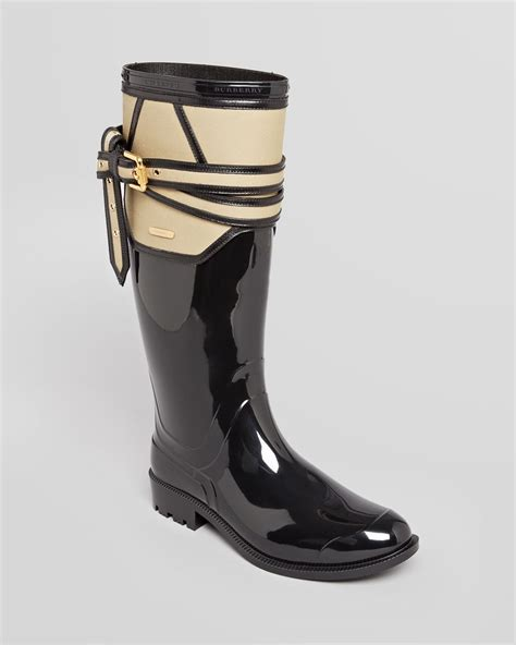 burberry boots burberry boots boots willesden trench in black