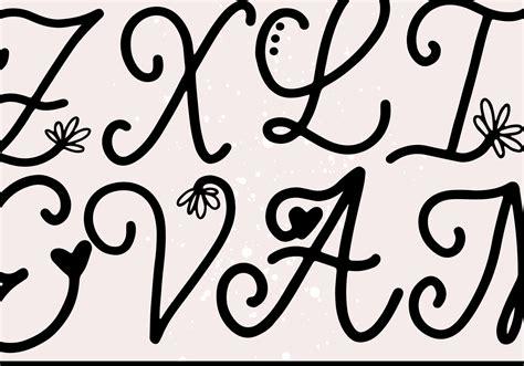 handwritten monogram font  styles  ka designs