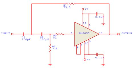 high pass filter diagram wideband two pole high pass filter schematic circuit diagram