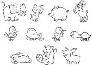 Baby Zoo Animals Coloring Pages free coloring pages of nine