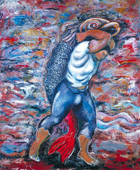 theme painting definition water bearer sandro chia tate