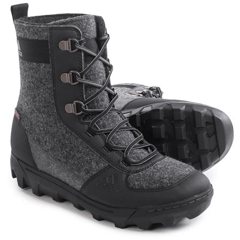 adidas winter boots mens adidas outdoor climaheat 174 felt winter boots for