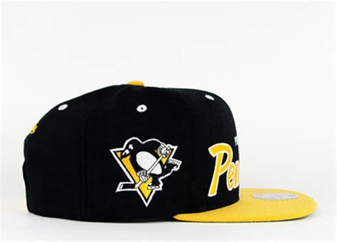 pittsburgh penguins colors pittsburgh penguins snapback mitchell and ness green