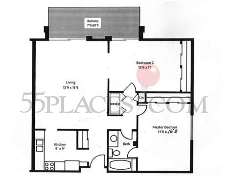 heather gardens floor plans 1050 floorplan 1050 sq ft heather gardens 55places com