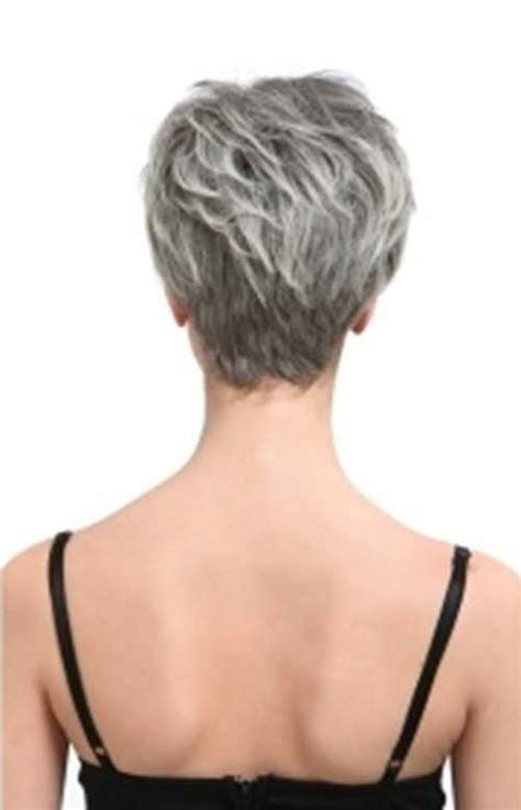 back view of short haircuts older women best 25 short gray hair ideas on pinterest grey pixie