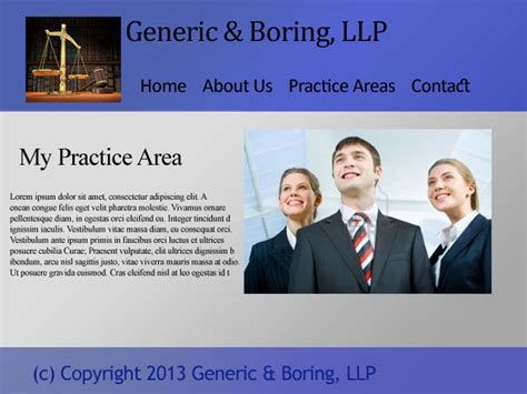 7 Website Mistakes Law Firms Make Attorney Website Templates