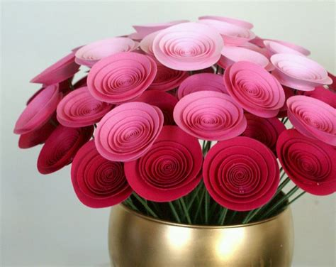 Handmade Craft Flowers - craft work with paper flowers find craft ideas