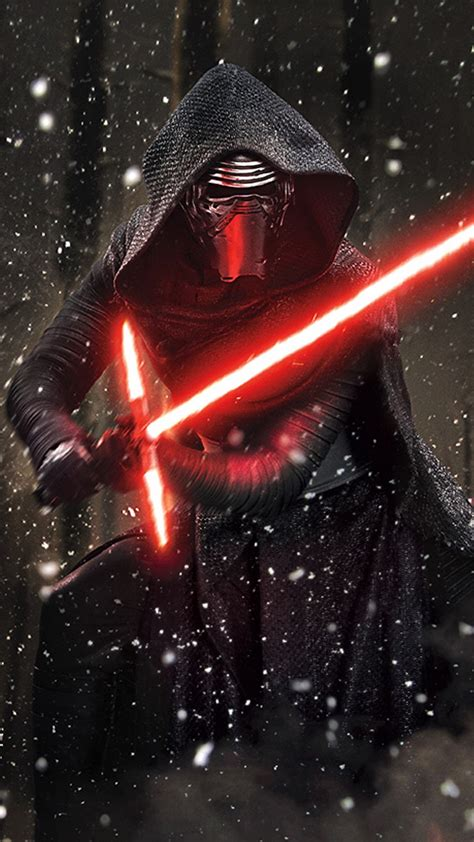 kylo ren wallpaper hd iphone 6 kylo ren phone wallpaper wallskid