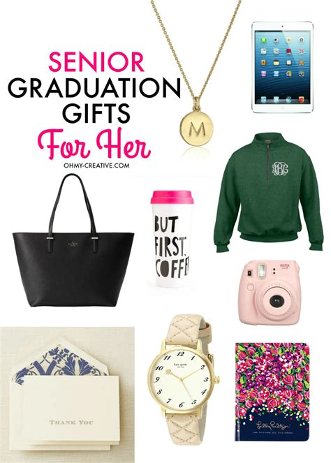 Graduation Gifts by Senior Graduation Gifts For Oh My Creative