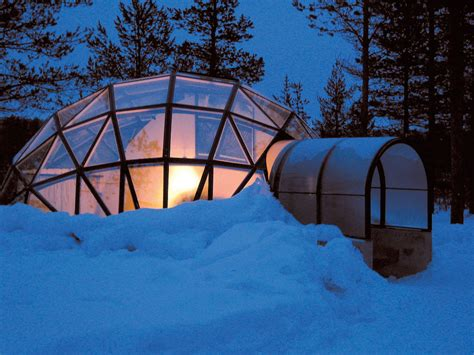 igloo to watch northern lights watch the northern lights from glass igloos at hotel