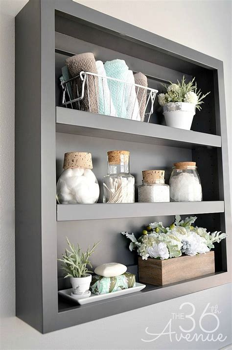 bathroom shelf ideas 20 cool bathroom decor ideas that you are going to love