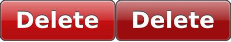 Clipart - Delete Button