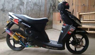 modifikasi motor mio sporty simple 2009 2011