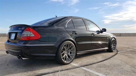 2007 Mercedes E63 by Fs 2007 Mercedes E63 Amg Sedan 48k Blk Blk Upgrades