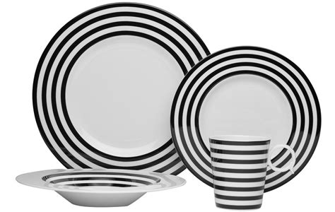 black and white pattern dishes black and white plate sets pictures to pin on pinterest