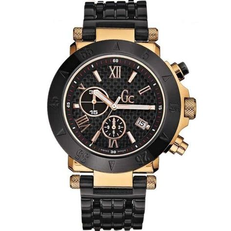 Guess Gc Chronograph 6617 Leatherblw guess gc 1 mens sport chronograph i47000g1