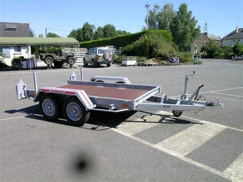 remorque 1200 kg porte voiture 123 remorque
