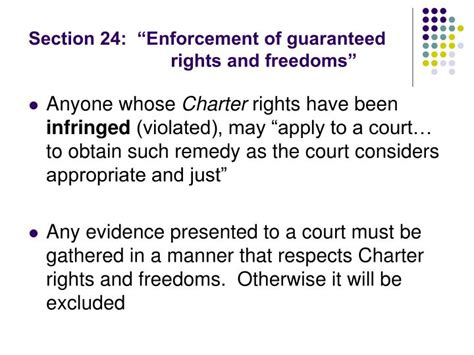 section 1 charter of rights and freedoms ppt clu3m law powerpoint presentation id 3754658