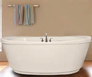 Standard Bathtub Gallons Ovale Soaking Whirlpool Or Air Jets Hydro Massage