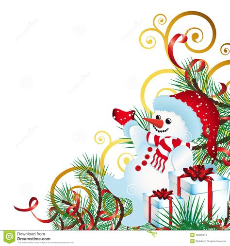 christmas background with christmas decor royalty free
