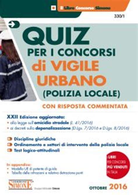 diritto amministrativo enti locali dispense concorso di vigile urbano quiz la matricola