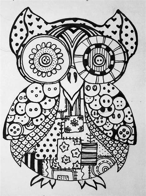 owl mandala coloring pages for adults free coloring pages of owl mandala