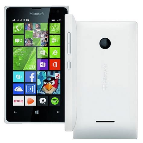 Hp Nokia Lumia Ram 1 Gb nokia lumia 435 1gb ram 8gb rom white cn direct