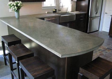 Poured Cement Countertops by Poured Concrete Countertops Yes 2012 Clutch