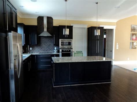 dark kitchen cabinets with dark floors dark hardwood floors an elegant and strong choice for any
