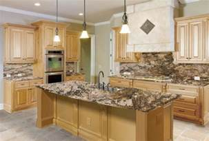 Maple Kitchen Cabinets With Granite Countertops The Right Granite Countertops For Your Maple Cabinets Which Color Is The Right Color For Your