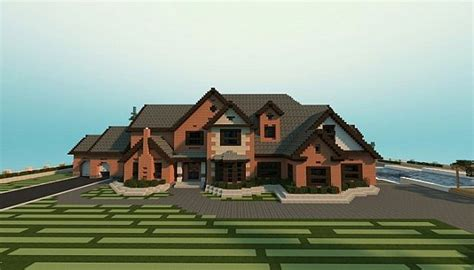 Modern Houses Minecraft Traditional Mansion Minecraft Project