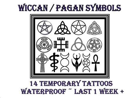 wicca symbols and signs pagan wiccan symbols and meanings