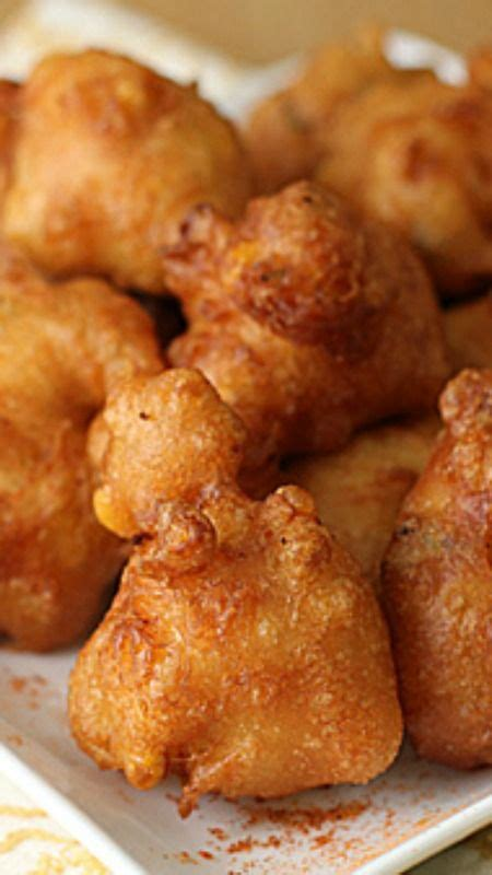 corn batter recipe fritters and comfort foods on