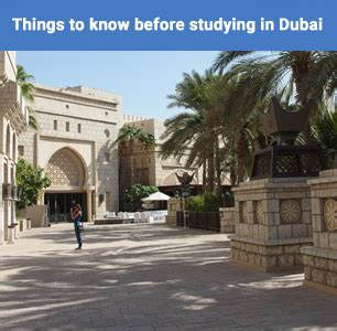 In Dubai For Mba Finance Experienced by Things To Before Studying In Dubai