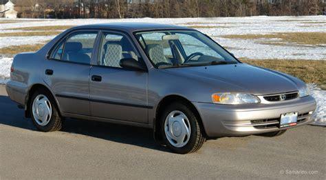 Toyota Corrolla 98 Used Toyota Corolla 1998 2002 Review
