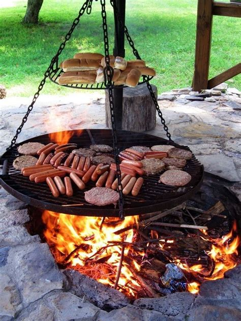 Bbq Firepit Best 20 Pit Cooking Ideas On
