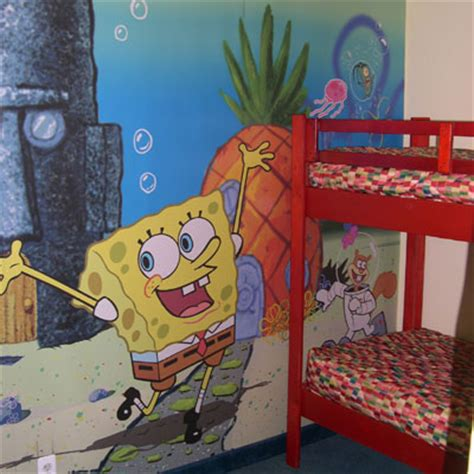 spongebob bedroom decor spongebob squarepants themed room design digsdigs