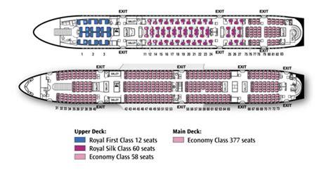 thai air a380 seat map thai airways a380 business class seat check