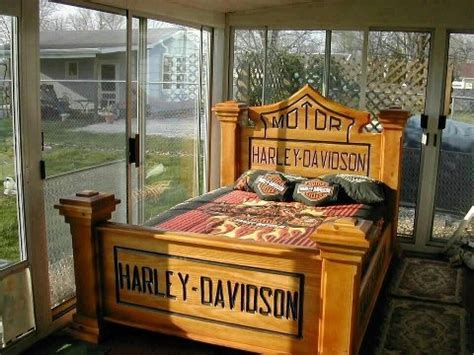 harley davidson bedroom harley davidson bed yes bike room pinterest i