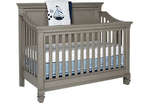 Baby Cache Vienna Lifetime Crib Ash Gray by Baby Cache Vienna Lifetime Crib Ash Gray Baby Cache
